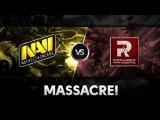 Massacre on the base! by Na`Vi vs PR @ DAC 2015