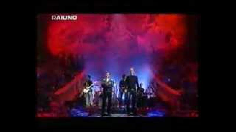 Cheb mami feat Sting - desert rose Live au Festival Sanremo 2000 - a la presence de pavarotti
