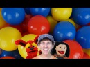 Color Ball Counting Song | Find Colors and Count | Learn English Kids