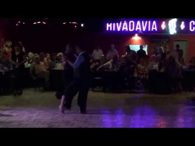 Alejandra Mantiñan Martin Ojeda Tango Lágrimas de Sangre De Angelis - Larroca (13-01-15) 3/5
