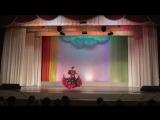 Цыганский танец.Оля в отчетном концерте хореографического отделения ДШИ г. Инты 26.04.2015