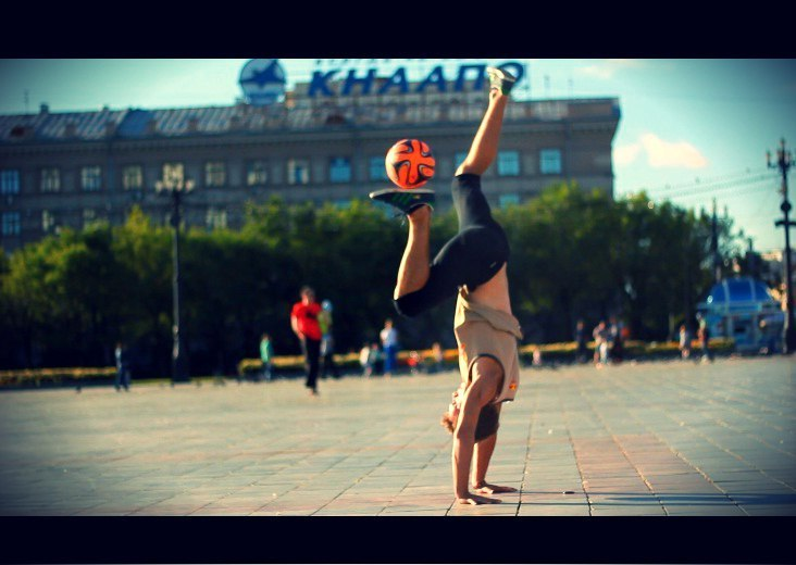 Афиша Хабаровск Открытый урок по футбольному фристайлу
