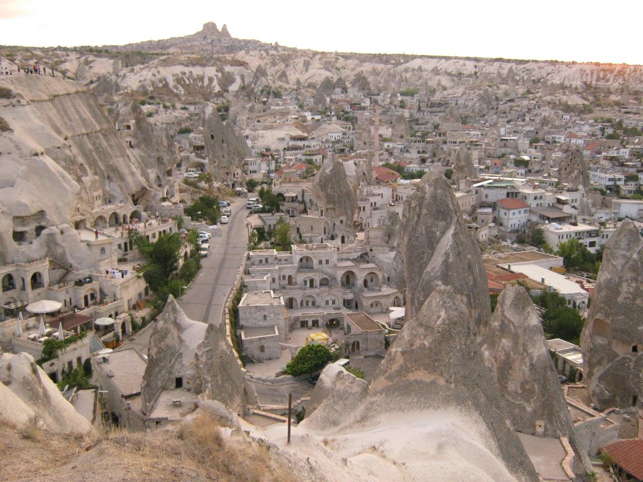 Часть села Гёреме