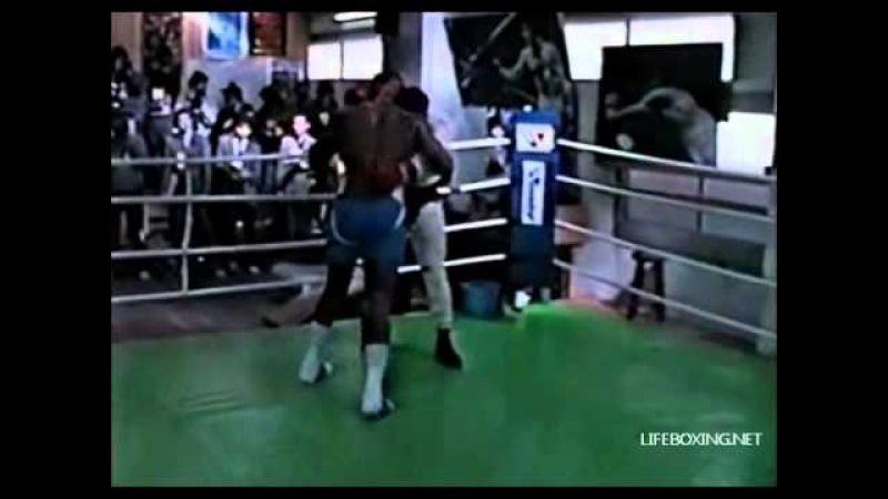 Mike Tyson - Спарринг (Часть 1 из 3)