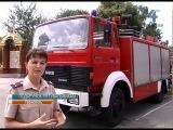 Польські рятувальники подарували тернопільським колегам автомобіль