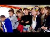 «Золотой колос» организовал детям путешествие на речном трамвайчике по Южному Бугу