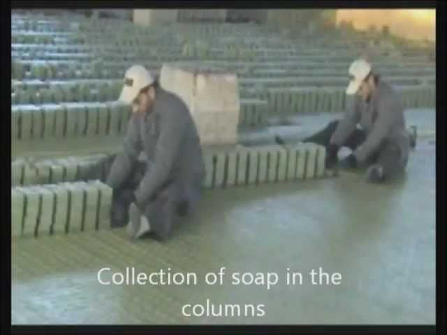 How Lorbeer Aleppo Soap is made savon dAlep, seife,Алеппо мыло,阿勒颇肥皂