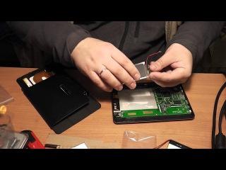 Планшет TEXET TM-7043XD замена батареи, окончание истории! - Обзор