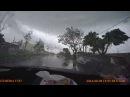 Scary Tornado caught on dashcam Tainan, Taiwan 09.08.15