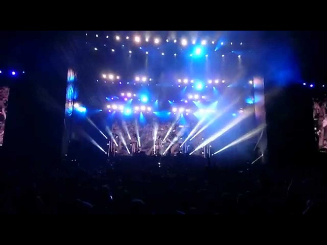 MUSE - Knights Of Cydonia @ Park Live Moscow 2015 4K FunZone
