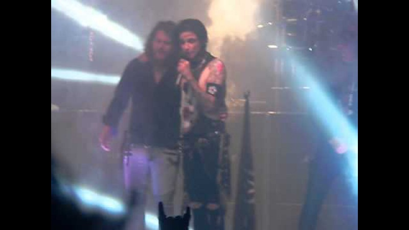 Black Veil Brides Fallen Angels feat Danny Worsnop and Jeff George of We Are Harlot