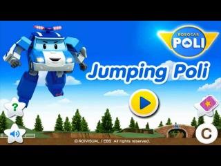 Robocar Poli Jumping Poli Робока Поли Обучающая детская игра На Андройд Gameplay