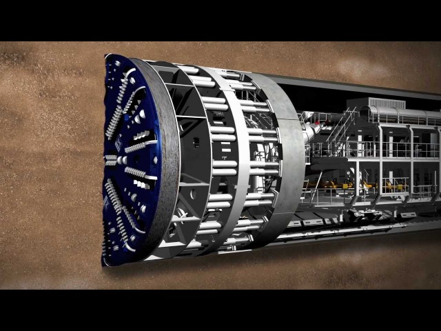 Meet Crossrail's giant tunnelling machines
