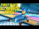 DAAAMN! I GOT GOOD! [ONLY MUSHROOMS RAINBOW ROADS!] [MK8]