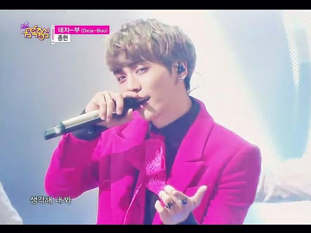 [HOT] JONGHYUN - Deja-Boo, 종현 - 데자-부, Show Music core 20150117