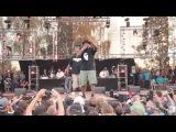 Gang Starr Foundation live @ Hip Hop Kemp 2015 Jeru The Damaja, Big Shug, Lil Dap of Group Home