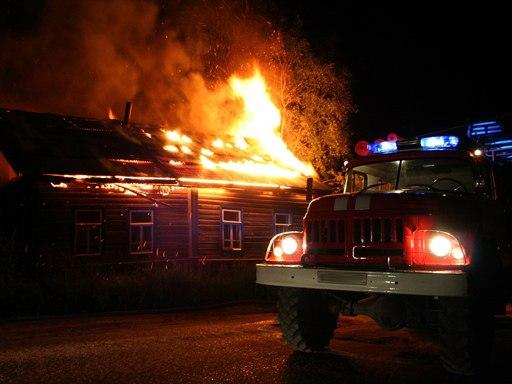 Под Таганрогом горел одноэтажный частный дом