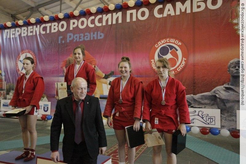 Таганрожцы вернулись с Первенства России по самбо