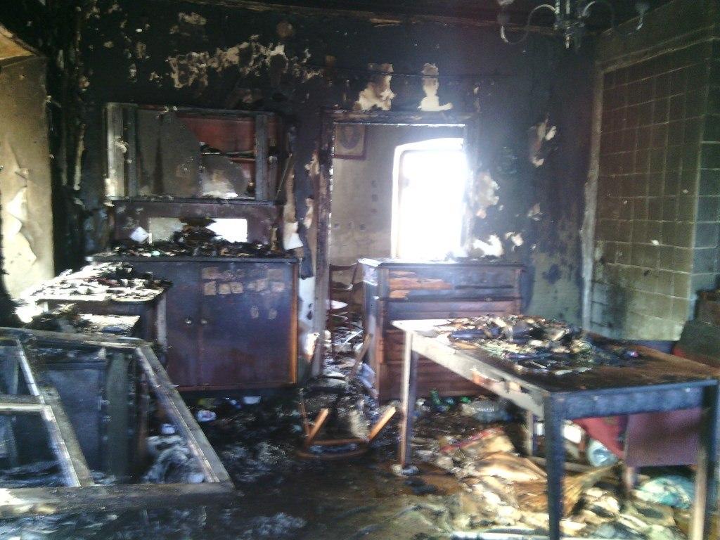 23 февраля под Таганрогом заживо в своем доме сгорел инвалид