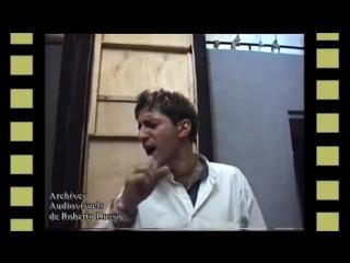 Mikelangelo Loconte, répetitions, Septembre 2001
