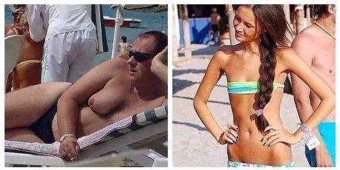 женские сиськи, мужские сиськи, голая грудь на пляже, девушки в лифчиках,