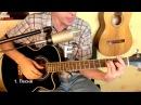 Как играть на гитаре Там высоко Ария бой аккорды табы урок