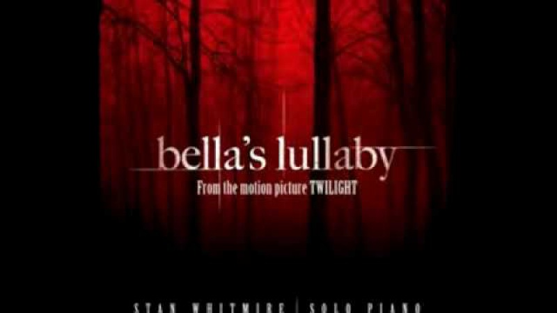 Bella's Lullaby OFFICIAL Piano Only Composed by Carter Burwell played by Stan Whitmire