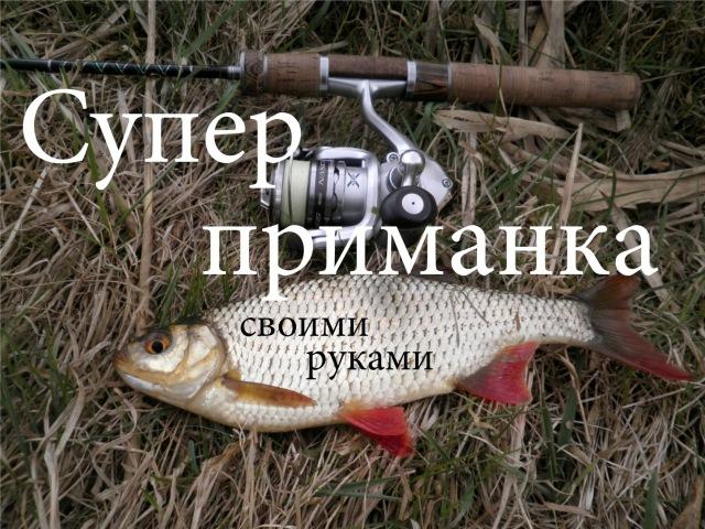 Рыб приманки своими руками