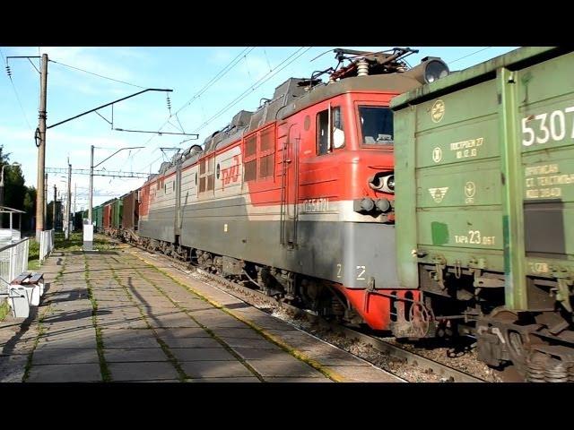 ГЖД Сдвоенный грузовой поезд