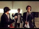 29.08.2013 Supreme Team - Dang Dang Dang (cover by EXO Kai &amp Chan Yeol)