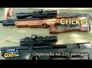 Пневматика Cricket и стрельба на 225 метров (ТВ-программа)