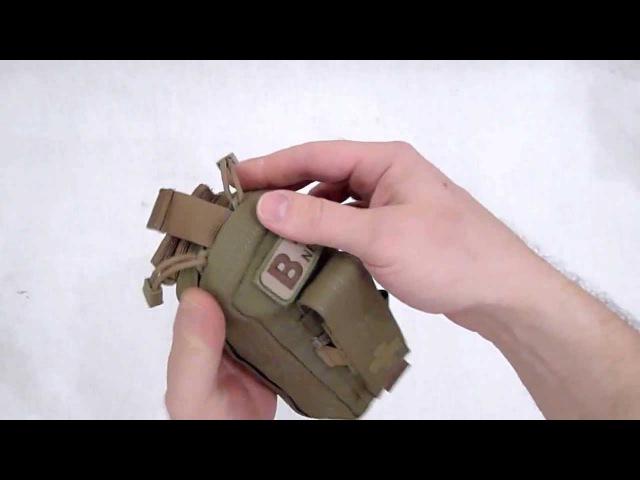 Видео обзор подсумка-аптечки индивидуальной Tactical 3.6 Med Kit от