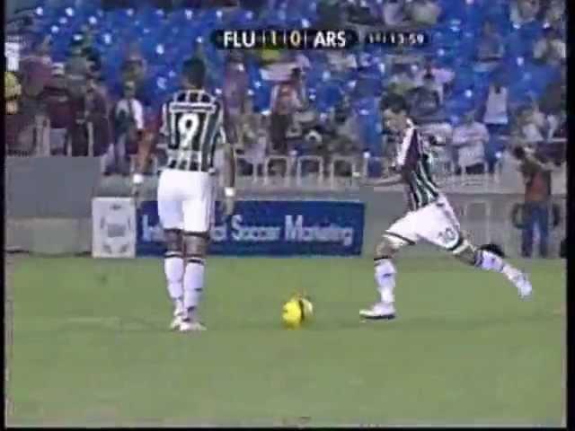 Libertadores 2008 - Fluminense 6x0 Arsenal/ARG - Gols - Rede Globo