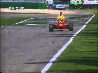Шумахер подвозит Физикелло на Гран-при Германии 1997