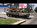 Подбитый танк из РПГ. АТО ДНР
