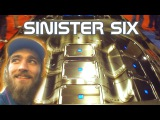 Rotating SINISTER Six w/ LOUD Sound System BASS Demo | CRAZY Alpine Audio BWM Show Car at SBN 2013