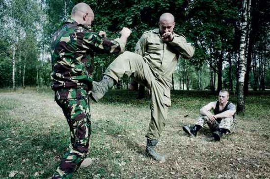 Боевая машина - метод рукопашного боя