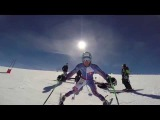 Adam Zampa GS training Les deux alpes (FRA)