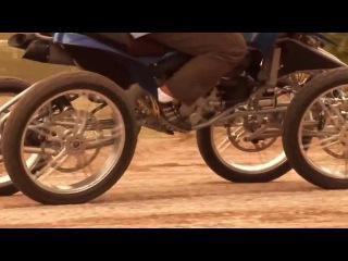 Супер квадроцикл (передняя и задняя независимая наклонная подвеска)