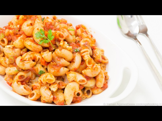 Indian Style Macaroni Pasta Recipe | Kids Lunch Box Indian Style Recipes