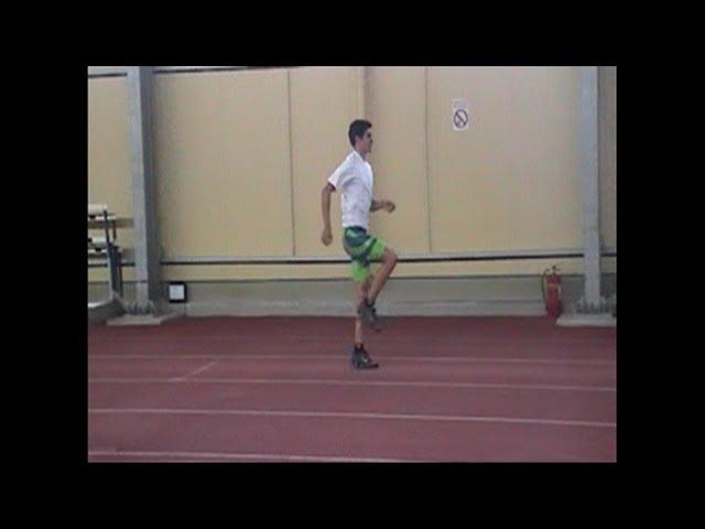 Long jump - Teaching the approach 25 (22 running drills)