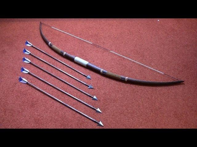 Connor costume (AC3): longbow arrows tutorial