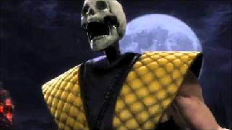 [MAD]mortal kombat 9 themesong music video[2011]