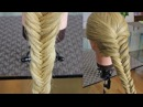 Плетение кос : Рыбий хвост для длинных волос