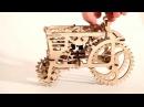 Механичейский 3Д пазл Трактор в движении