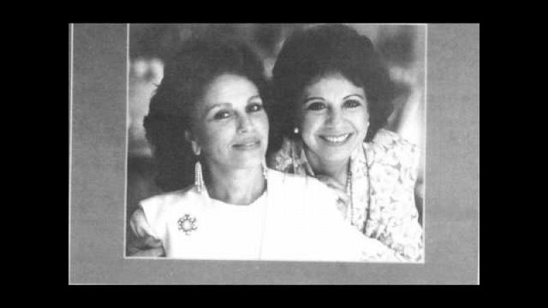 Карина и Рузана Лисициан Не забывай И.Дунаевский 1950-e