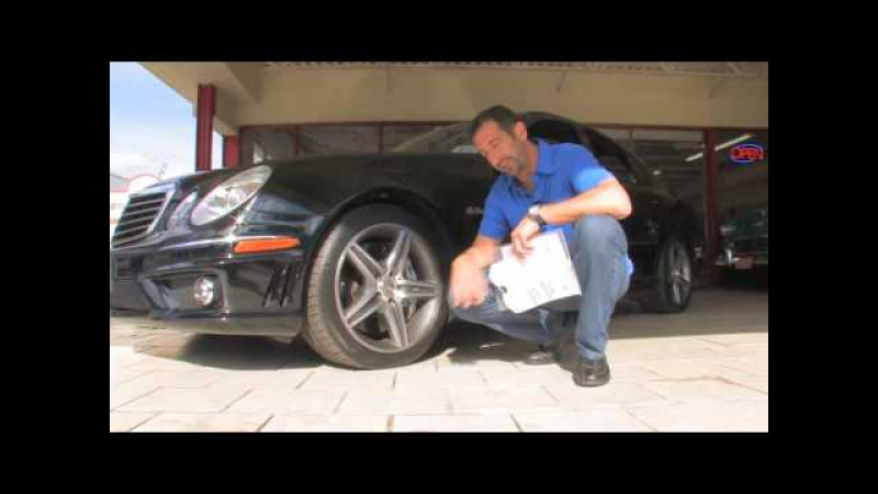 2007 Mercedes Benz E63 AMG for sale at with test drive, driving sounds, and walk through video