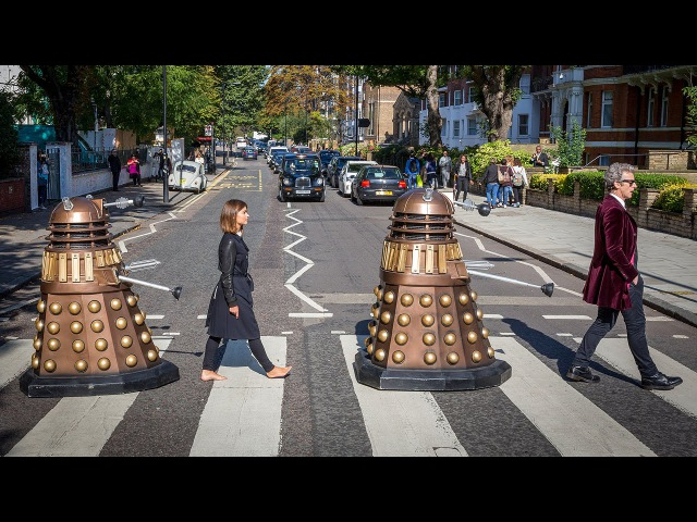 Abbey Road Photoshoot | Doctor Who