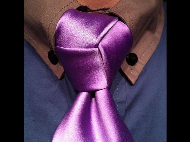 Эстетическое развитие Как завязать галстук узлом Тринити