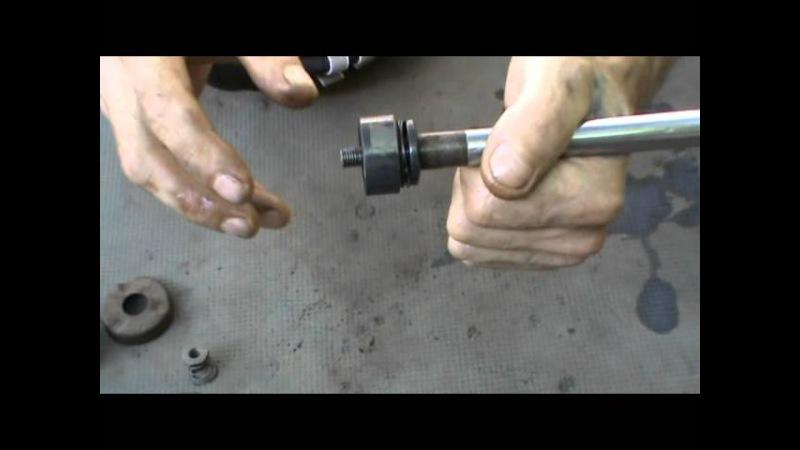 Как отремонтировать стойку своими руками видео